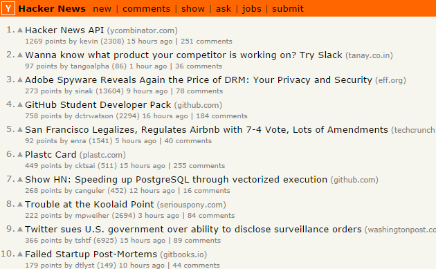 Show HN Karma - Hacker News Homepage